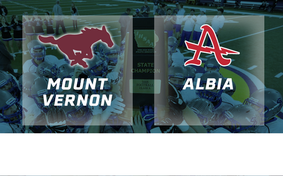 2015 Football Class 2A Semifinal (Mount Vernon vs. Albia) - Digital Download