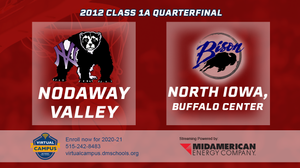 2012 Basketball Class 1A Quarterfinal (Nodaway Valley vs. North Iowa, Buffalo Center) Digital Download