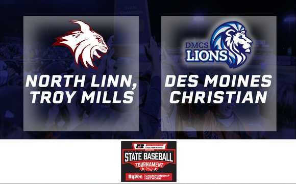 2019 Baseball Class 2A Semifinal (North Linn, Troy Mills vs. Des Moines Christian) - Digital Download