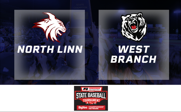 2019 Baseball Class 2A Quarterfinal (North Linn, Troy Mills vs. West Branch) - Digital Download