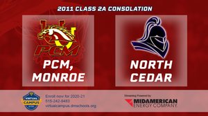 2011 Basketball Class 2A Consolation (PCM, Monroe vs. North Cedar, Stanwood) Digital Download