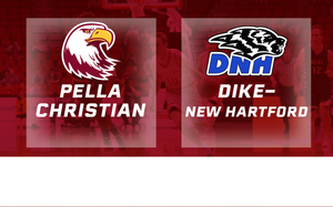 2016 Basketball Class 2A Quarterfinal (Pella Christian vs. Dike-New Hartford) Digital Download