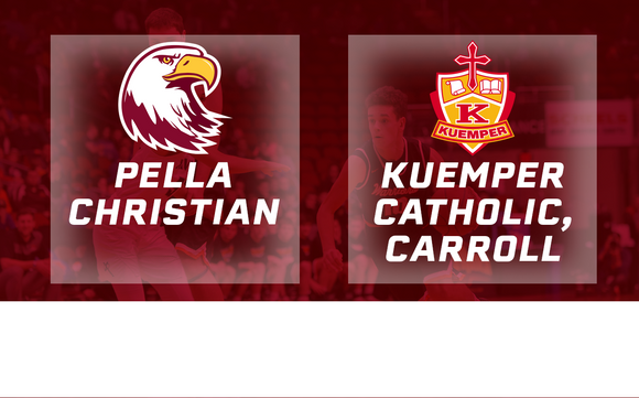 2017 Basketball Class 2A Semifinal (Pella Christian vs. Kuemper Catholic, Carroll) - Digital Download