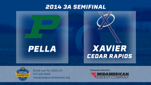 2014 Football 3A Semifinal (Pella vs. Xavier, Cedar Rapids) - Digital Download