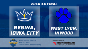 2014 Football 1A Final (Regina, Iowa City vs. West Lyon, Inwood) - Digital Download