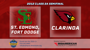 2012 Basketball Class 2A Semifinal (St. Edmond, Fort Dodge vs. Clarinda) Digital Download