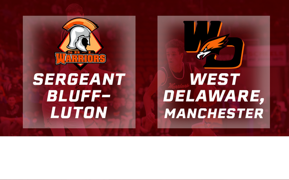 2017 Basketball Class 3A Semifinal (Sergeant Bluff-Luton vs. West Delaware, Manchester) - Digital Download