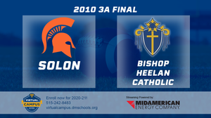2010 Football Class 3A Championship (Solon vs. Bishop Heelan Catholic, SC) Digital Download