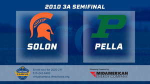 2010 Football Class 3A Semifinal (Solon vs. Pella) Digital Download