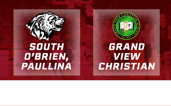 2016 Basketball Class 1A Quarterfinal (South O'Brien, Paullina vs. Grand View Christian) Digital Download