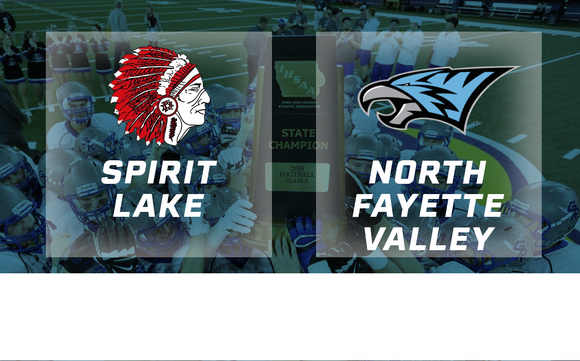 2015 Football Class 2A Semifinal (Spirit Lake vs. North Fayette Valley) - Digital Download
