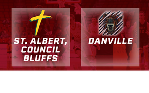 2016 Basketball Class 1A Quarterfinal (St. Albert, Council Bluffs vs. Danville) Digital Download