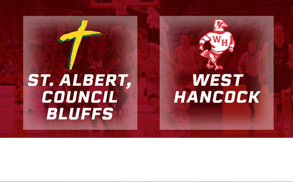 2016 Basketball Class 1A Semifinal (St. Albert, Council Bluffs vs. West Hancock, Britt) Digital Download