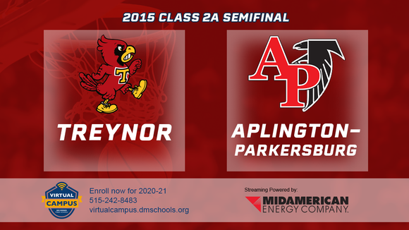 2015 Basketball Class 2A Semifinal (Treynor vs. Aplington-Parkersburg) Digital Download