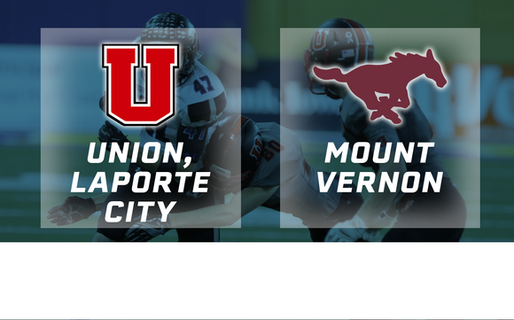 2016 Football Class 2A Semifinal (Union, LaPorte City vs. Mount Vernon) - Digital Download