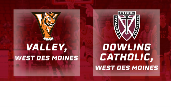 2016 Basketball Class 4A Quarterfinal (Valley, West Des Moines vs. Dowling Catholic) Digital Download