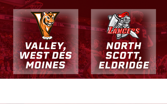 2018 Basketball Class 4A Quarterfinal (Valley, West Des Moines vs. North Scott, Eldridge) - Digital Download