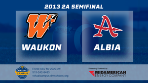 2013 Football 2A Semifinal (Waukon vs. Albia) - Digital Download