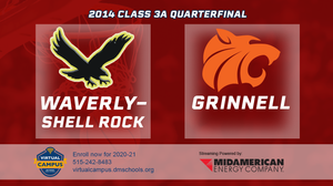2014 Basketball Class 3A Quarterfinal (Waverly-Shell Rock vs. Grinnell) Digital Download