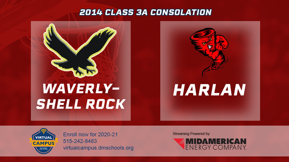 2014 Basketball Class 3A Consolation (Waverly-Shell Rock vs. Harlan) Digital Download