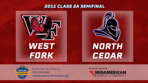 2011 Basketball Class 2A Semifinal (West Fork, Sheffield vs. North Cedar, Stanwood) Digital Download