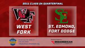 2011 Basketball Class 2A Quarterfinal (West Fork, Sheffield vs. St. Edmond, Fort Dodge) Digital Download