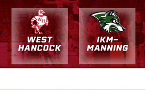 2016 Basketball Class 1A Quarterfinal (West Hancock, Britt vs. IKM-Manning) Digital Download