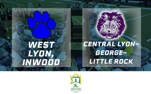 2013 Channel Seed Ag Bowl - West Lyon vs. Central Lyon-George-Little Rock