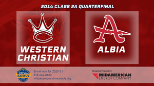 2014 Basketball Class 2A Quarterfinal (Western Christian, Hull vs. Albia) Digital Download