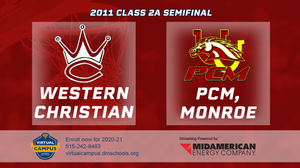 2011 Basketball Class 2A Semifinal (Western Christian, Hull vs. PCM, Monroe) Digital Download