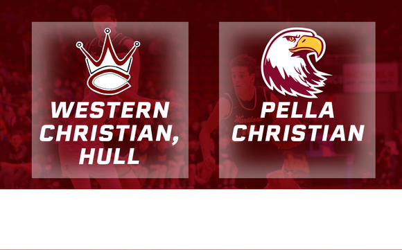 2017 Basketball Class 2A Final (Western Christian, Hull vs. Pella Christian) - Digital Download