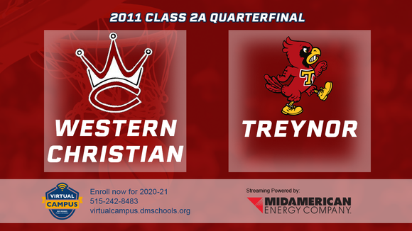 2011 Basketball Class 2A Quarterfinal (Western Christian, Hull vs. Treynor) Digital Download