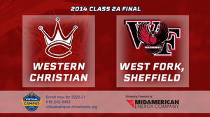 2014 Basketball Class 2A Championship (Western Christian, Hull vs. West Fork, Sheffield) Digital Download