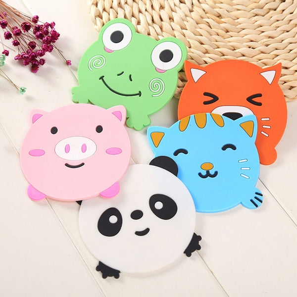 Cute Silicone Coaster
