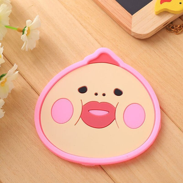 1 Pc Cute Silicone Coaster