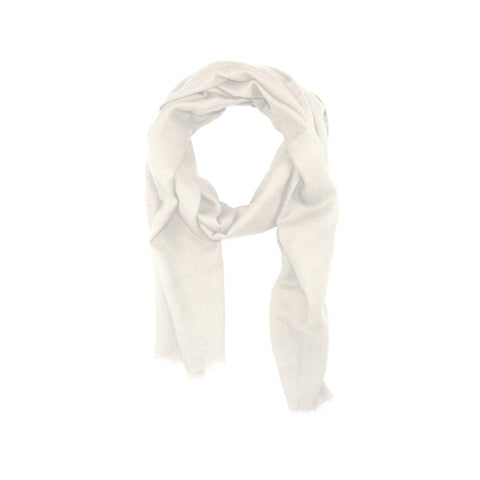 EthicalCashmere-100% Cashmere Large Scarf | EVERYDAY Neutrals-Scarf-CREAM-autumn, Nepal, scarf, shawl, spring, weave:diamond