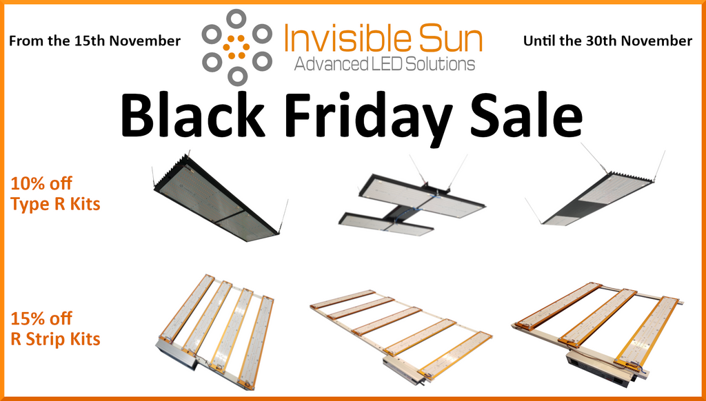 Invisible Sun LED Black Friday sale