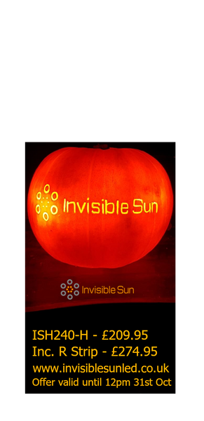 Invisible Sun LED Halloween Offer