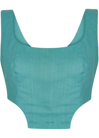 Collectif Talis Pinefore Top Green