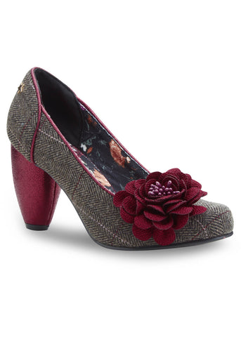Joe Browns Couture Truly Tweed Pumps Brown