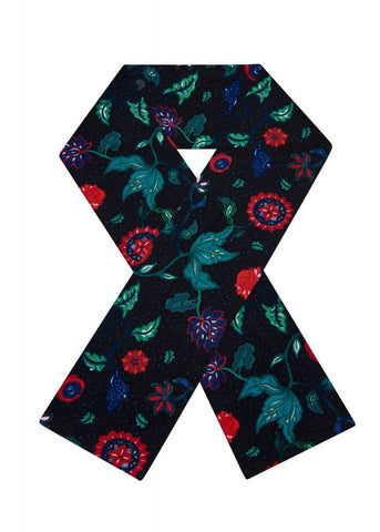 Bright & Beautiful Botanical Floral 70's Scarf Multi