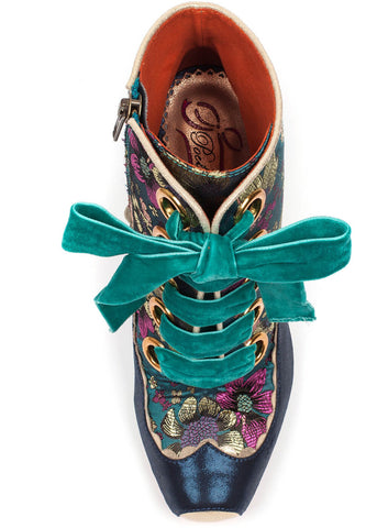 Poetic Licence Perinnial Passion Boots Teal