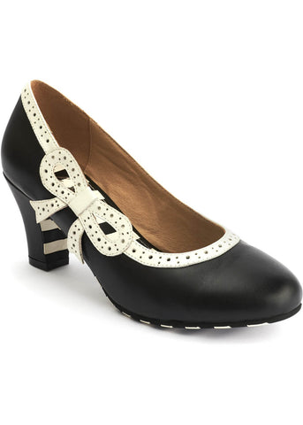Lola Ramona Ava Swell 50's Pumps Black