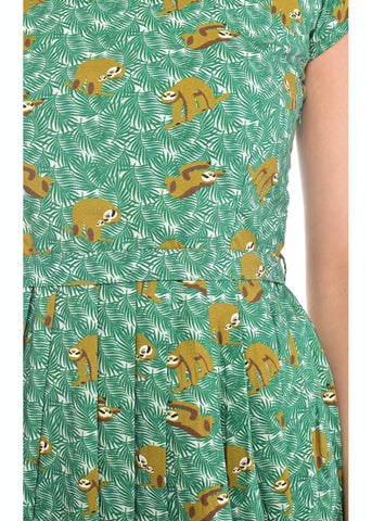 Run and Fly Sloth 50's Dress