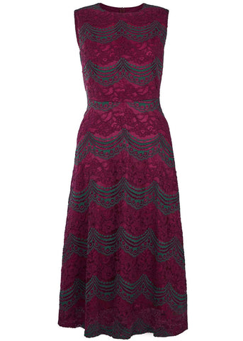 Traffic People One Day Maybe Dream Dress Maroon