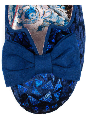 Irregular Choice Dazzle Razzle Pumps Blue