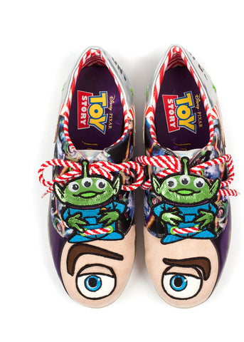 Irregular Choice Toy Story I Have Been Chosen Sneakers