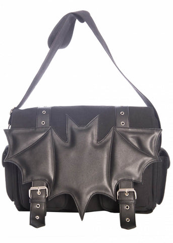 Banned Dark Ritual Bat Bag Black