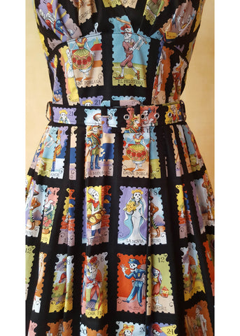 Victory Parade Retro Frock Marcadas 50's Dress