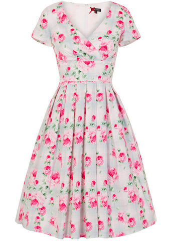 Hell Bunny Natalie Rose 50's Swing Dress Mint